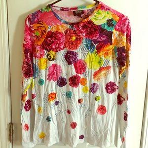 Floral Crush Long Sleeve Prabal Gurung x Target